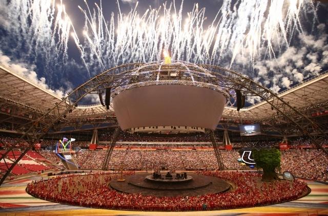 Церемония закрытия Универсиады 2013 в Казани: Фото