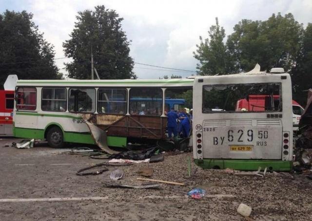 ДТП в Новой Москве 13 07 2013 унесло жизни 18 человек: Фото