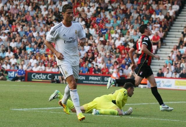 Борнмут - Реал Мадрид 22 июля 2013: Фото