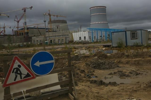 Строительство ЛАЭС-2: Фото