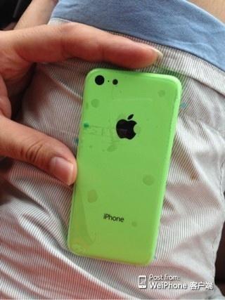 Шпионское фото iPhone 5C: Фото