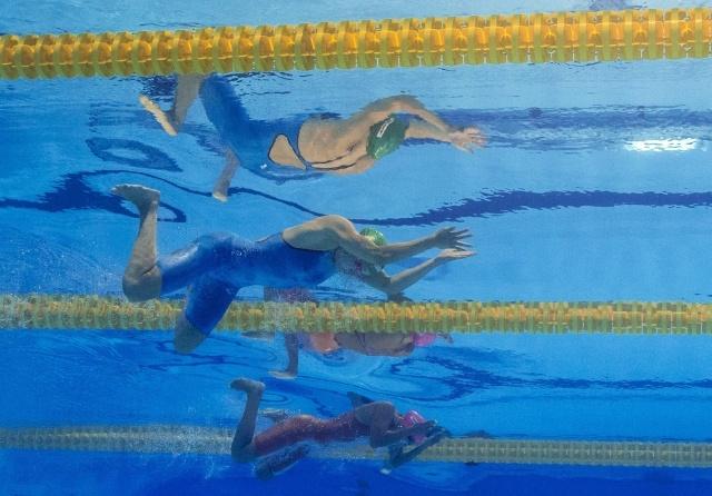 Юлия Ефимова на ЧМ по водным видам спорта 2013 в Барселоне: Фото