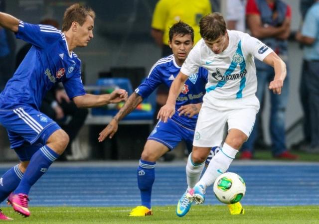 Матч «Зенит» - «Динамо» (Киев) 3 июля 2013 года: Фото