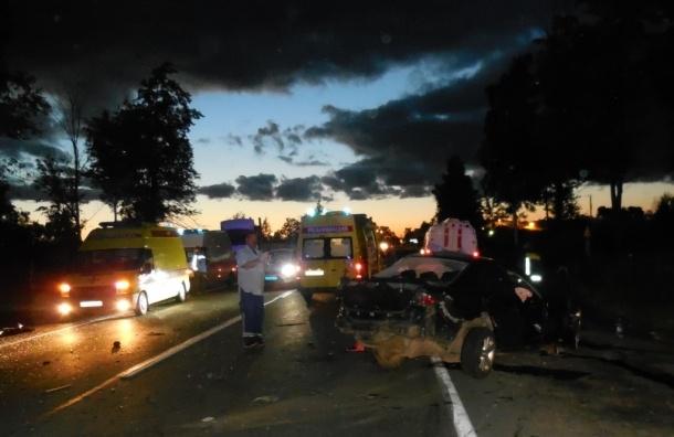 В ДТП на Колтушском шоссе погибли три человека