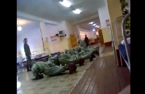 Женщина-командир во время учений избивала солдат - ВИДЕО