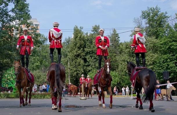Кремлевская школа верховой езды научит москвичей джигитовке