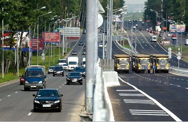 Открыто движение транспорта по Рублевской эстакаде