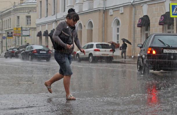 В Подмосковье сохраняется дождливая погода