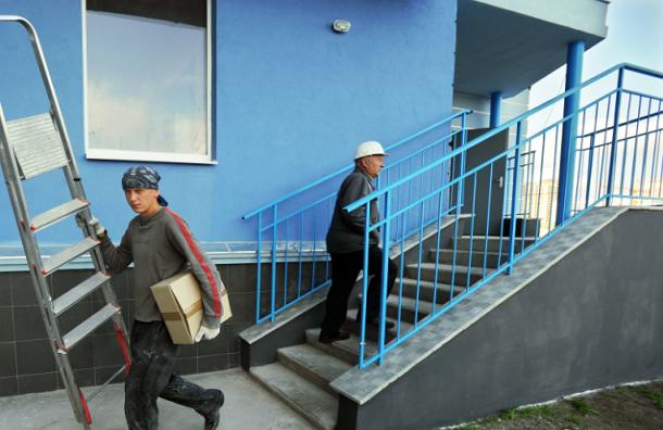 В подъездах московских домов установят динамики для оповещений о чрезвычайных ситуациях