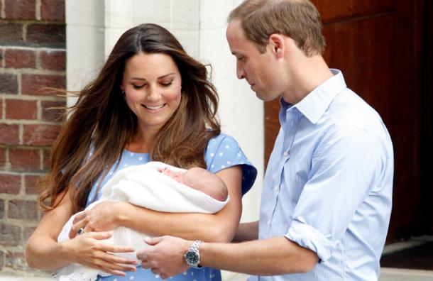 Герцог и герцогиня Кембриджские Уильям и Кейт определились с именем для сына
