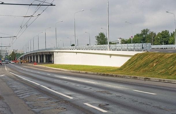 На Ярославском шоссе завершился этап реконструкции новой эстакады