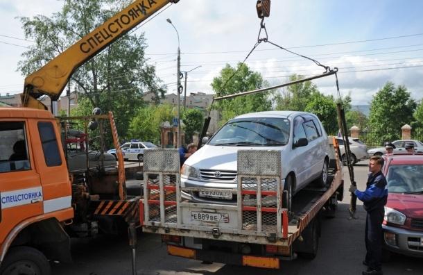 1,8 млрд рублей потратят на эвакуацию неправильно припаркованных автомобилей - Мэрия