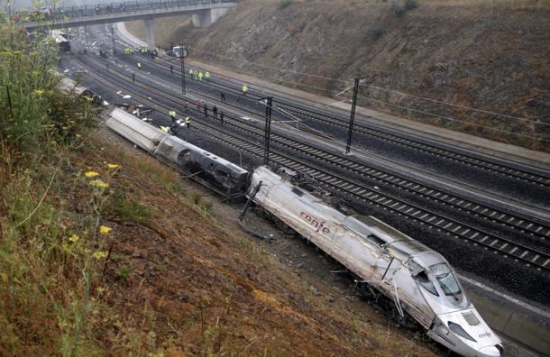 Машинист разбившегося в Галисии поезда разогнал состав ради острых ощущений