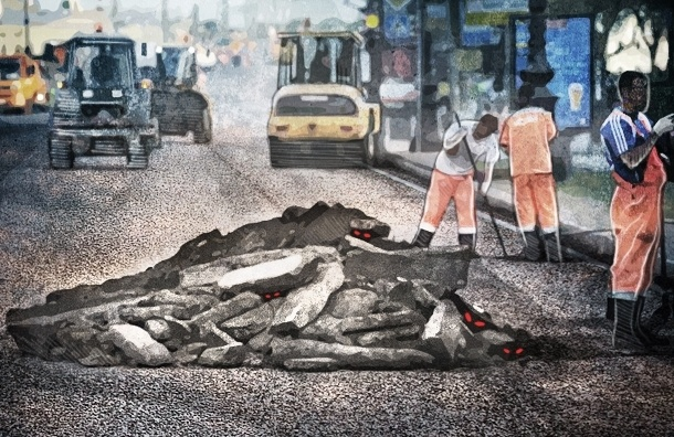 Ремонты петербургских дорог опасны для жизни