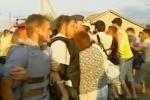 Жители города Пугачева перекрыли федеральную трассу