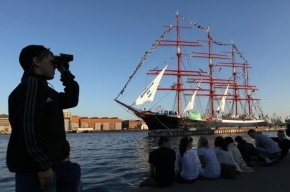Парусник «Седов» возвращается в Петербург из кругосветки