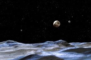 Пользователи интернета выбрали имена для новых спутников Плутона