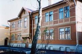 В Пушкине рухнул исторический деревянный дом