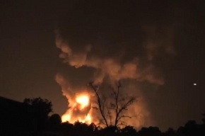 На химическом заводе во Флориде произошли десятки взрывов
