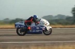 Мотогонщик из США разбился при попытке достичь скорости 482 км в час