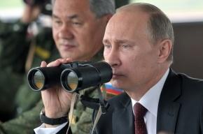 Путин понаблюдал за учениями в Восточном военном округе