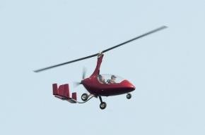 В Брянске вертолет упал в реку, один человек, вероятно, погиб