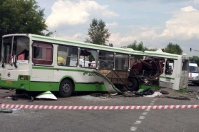 Водителю КамАЗа, врезавшегося в автобус под Подольском, предъявлено обвинение