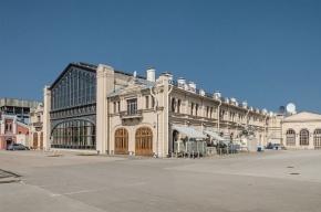 На Варшавском вокзале вновь горит заброшенное здание
