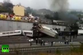 Жертвами крушения поезда в Испании стали 77 человек