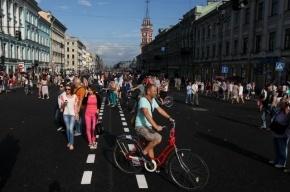 Пешеходы предлагают закрывать Невский проспект для транспорта каждое воскресенье