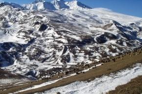 Двое петербургских альпинистов сорвались с горы в Кабардино-Балкарии