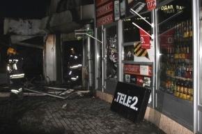 На Заневском проспекте сгорело кафе
