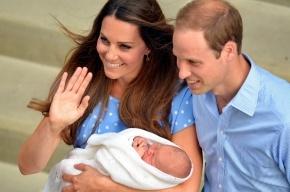Кейт Миддлтон и принц Уильям показали миру новорожденного сына