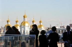 На крыше новой Мариинки открылась смотровая площадка