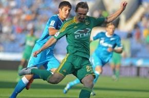 «Зенит» борется с «Анжи» за защитника «Кубани» Алексея Козлова