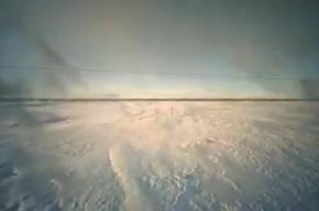 На Северном полюсе вместо льдов образовалось озеро