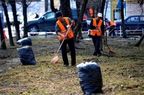 В Кронштадте дворников-мигрантов заменили россиянами