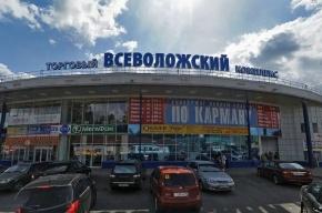 Под Петербургом горит торговый центр «Всеволожский»