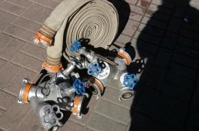 В Петербурге горел хлебозавод в Невском районе