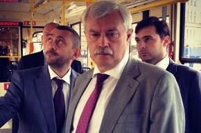 Георгий Полтавченко ненадолго стал машинистом трамвая
