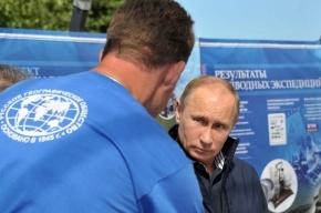 Путин спустился на дно Финского залива у острова Гогланд