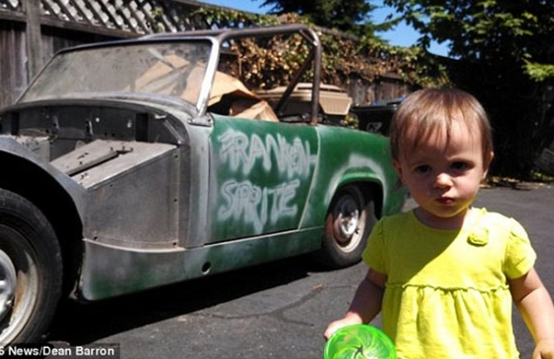 14-месячная малышка купила автомобиль на аукционе