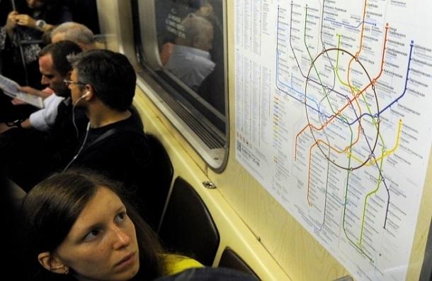 Всего 20% вагонов метро Москвы оборудованы кондиционерами