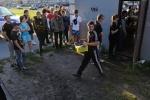Фоторепортаж: «Русская зачистка в Кировском районе Петербурга 21 августа»
