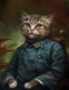 Фоторепортаж: «Коты Эрмитажа в ливреях»