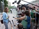 Фоторепортаж: «Собчак вернулась с допроса и рассказала о «списке Мизулиной»»