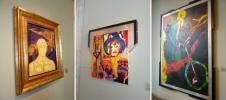 Картины Сильвестра Сталлоне : Фоторепортаж