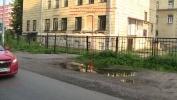 Тротуары Выборгского района: Фоторепортаж
