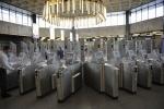 Камеры на турникетах метро «Ладожская»: Фоторепортаж