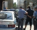 Фоторепортаж: «В Петербурге налетчика задержали при выходе из ломбарда»